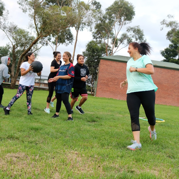 Group fitness training and challenges